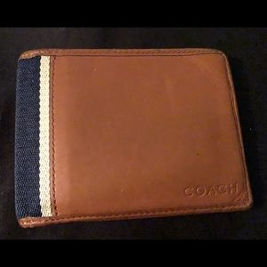 Men's Coach Bifold Wallet